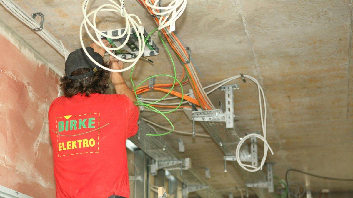 Übersicht Elektroinstallation