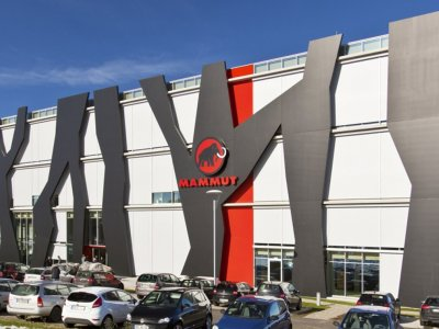 "Mammut ""Logistikzentrum"" in Memmingen"