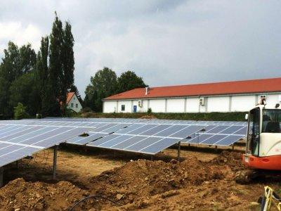 Photovoltaik-Freiflächenanlage in Wunsiedel