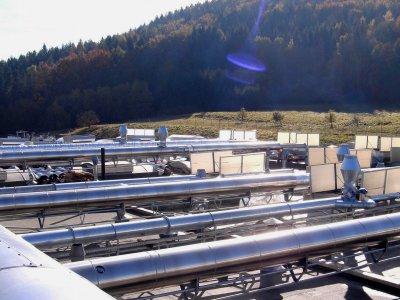 Tubex Luftreinigungsanlage in Rangendingen